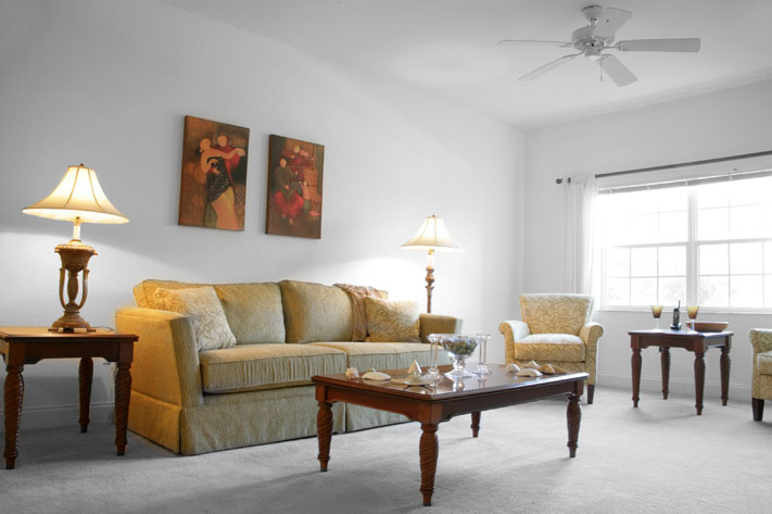 Patrick Air Force Base Housing, Comfortable Living Room Photo - Beachside Apartments